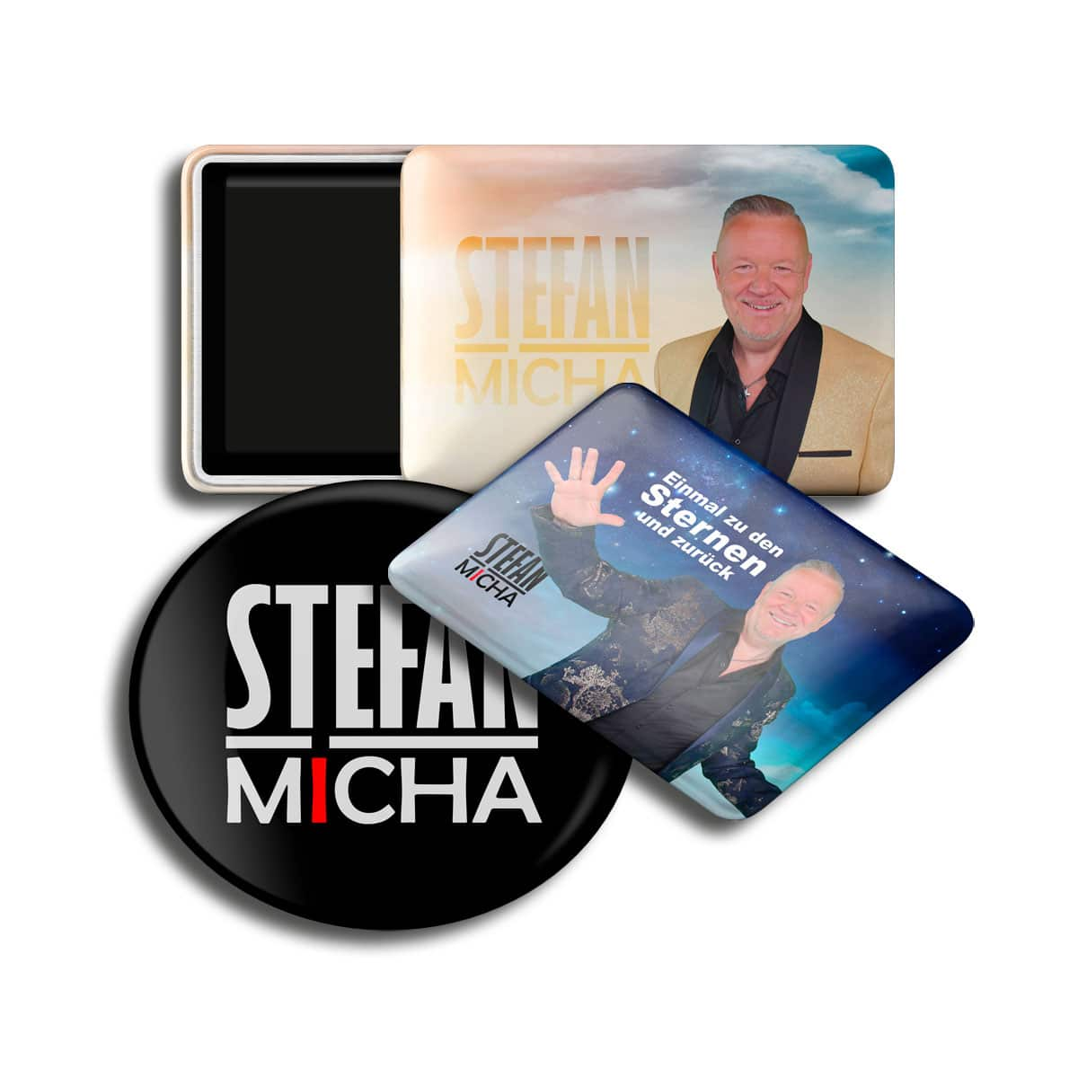 Magnet Buttons Stefan Micha 3er Set