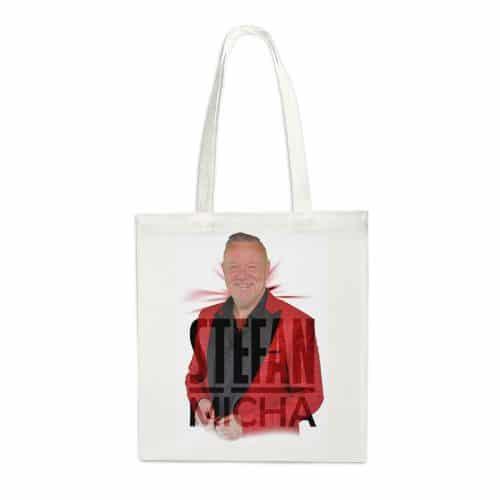 Einkaufstasche Stefan Micha Foto rot