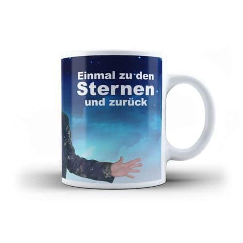 Fototasse Stefan Micha Einmal zu den Sternen und zurück