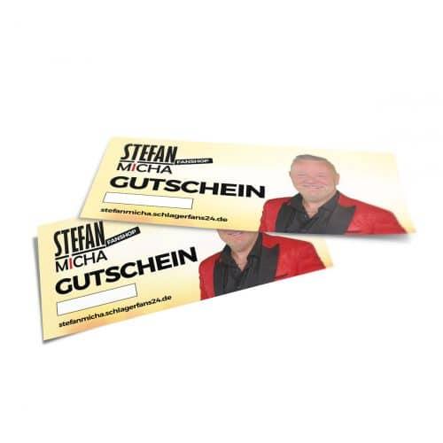 Geschenk Gutschein Stefan Micha