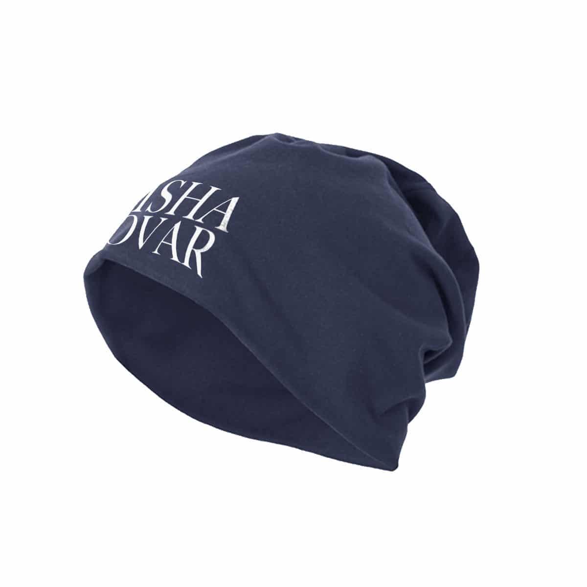 Beanie Misha Kovar Logo navy