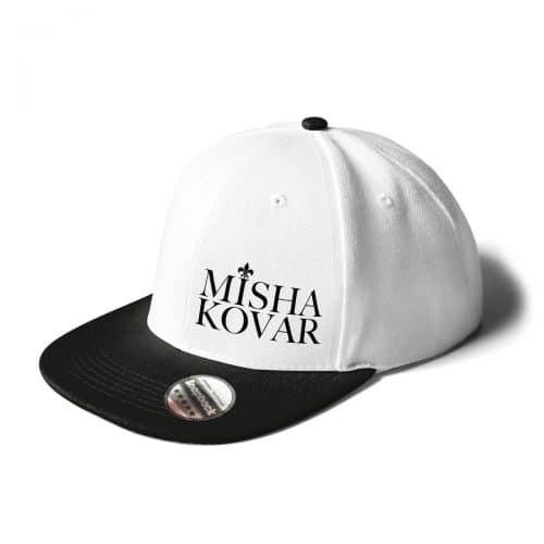 Cap Snapback Misha Kovar weiss schwarz