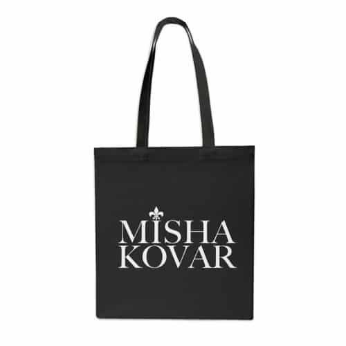 Misha Kovar Tasche Stofftasche schwarz
