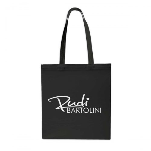 Stofftasche Rudi Bartolini schwarz