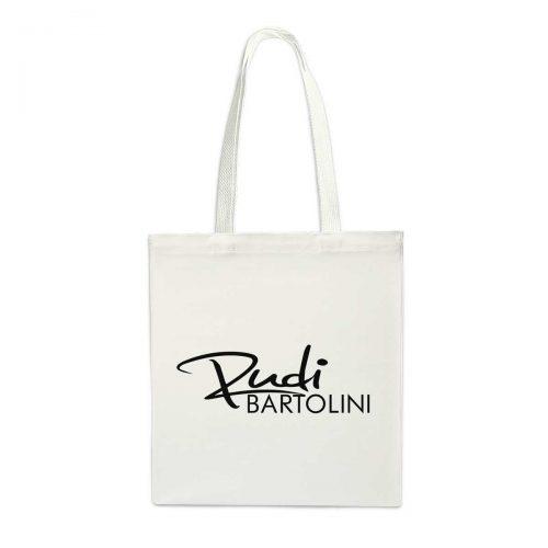 stofftasche Rudi Bartolini weiß
