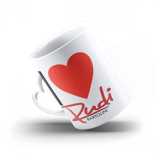 Rudi Bartolini Herztasse I love