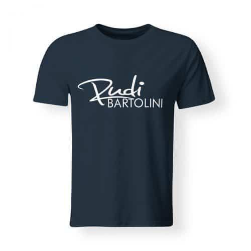T-Shirt Rudi Bartolini Logo navy