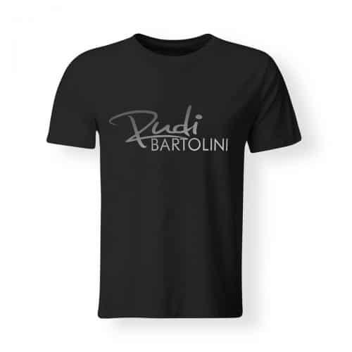 T-Shirt Rudi Bartolini Logo schwarz