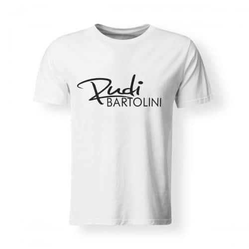 T-Shirt Rudi Bartolini Logo weiß