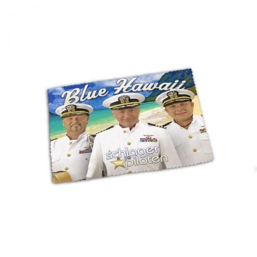 glasreinigungstuch brillenputztuch schlagerpiloten blue hawaii