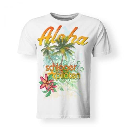 Schlagerpiloten T-Shirt Herren Aloha